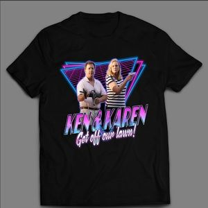 KEN AND KAREN GET OFF OUR LAWN QUALITY SHIRT 🔥🔥